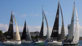 La Maeloc Finisterre es la segunda regata más larga de España se celebra entra La Coruña y Vigo (Foto Pedro Seoane)